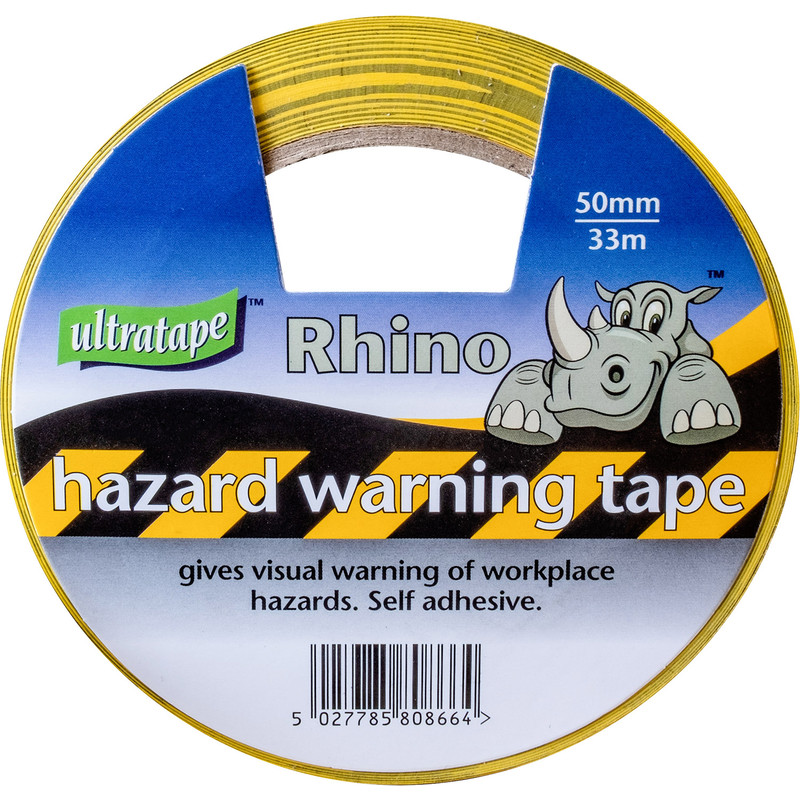 Hazard Tape 50mm x 33m