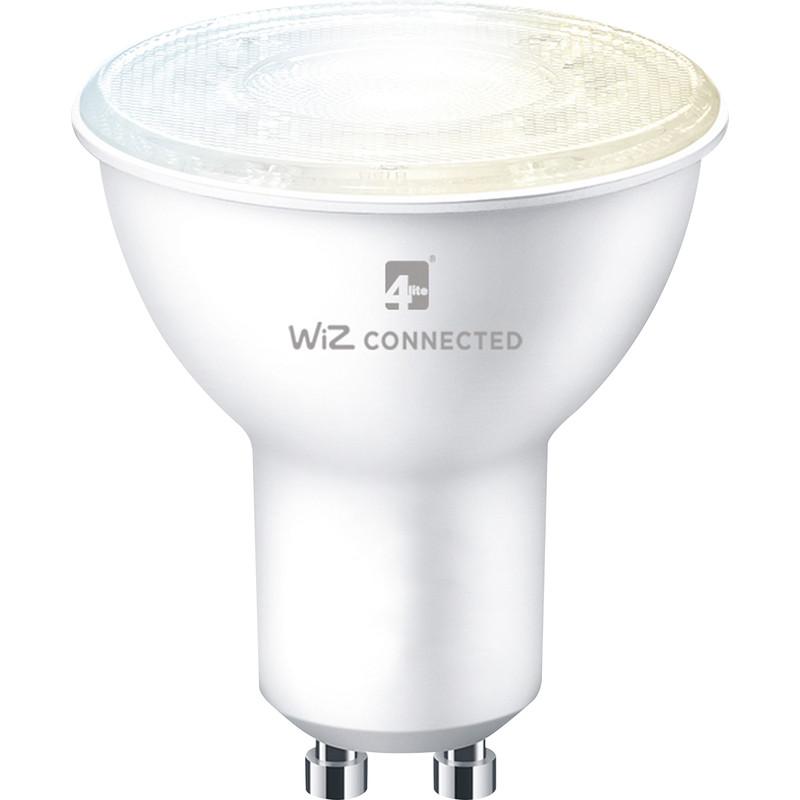 4lite WiZ 5W LED Smart WiFi Bluetooth GU10 Bulb