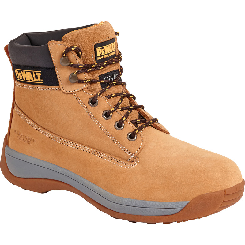 30b8e7bf49cba DeWalt Apprentice Safety Boots Honey Size 13