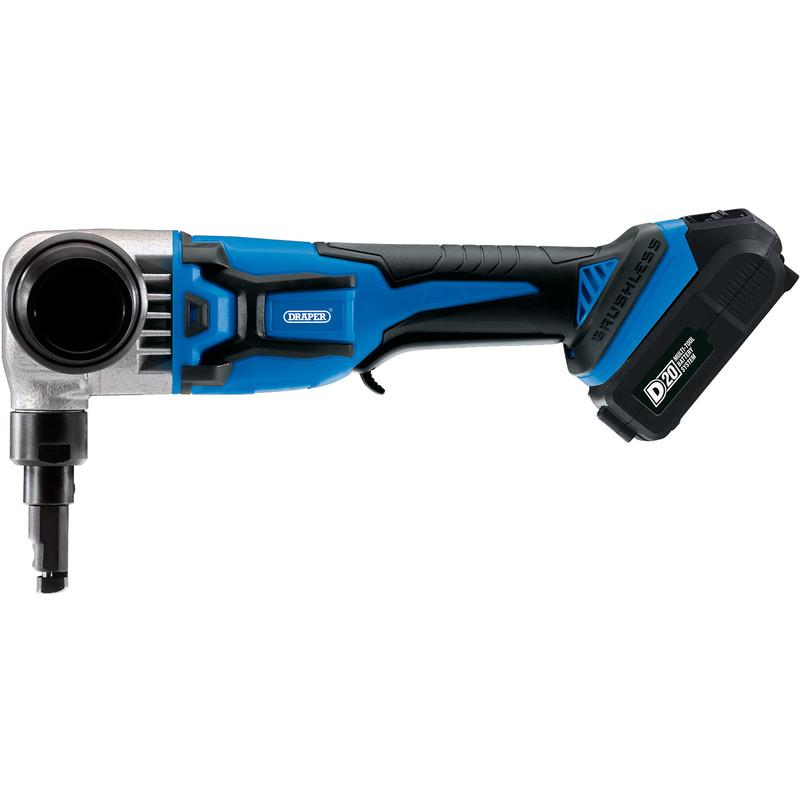 Draper D20 20V Brushless Nibbler