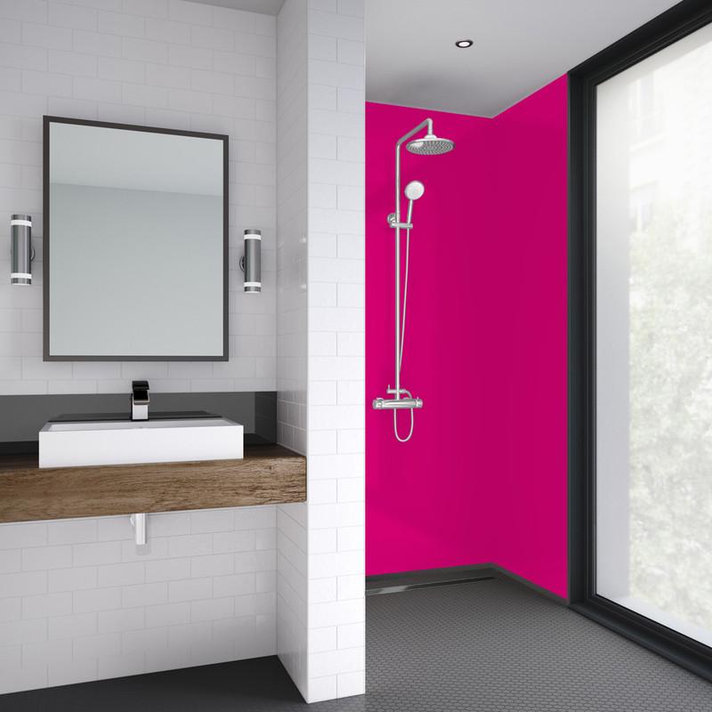 Mermaid Acrylic Matt Shower Wall Panel