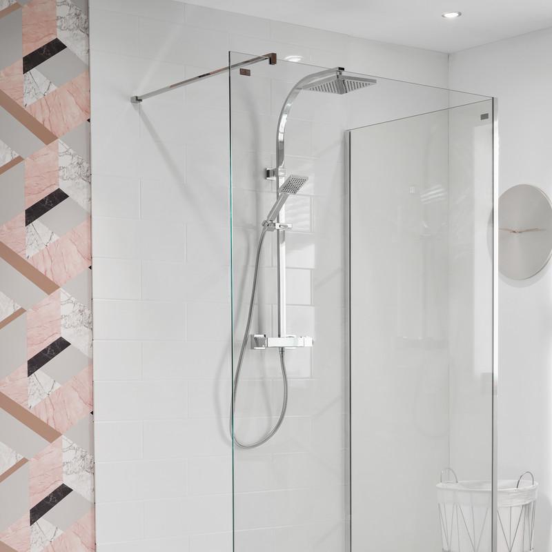 Triton Melita Thermostatic Bar Diverter Mixer Shower