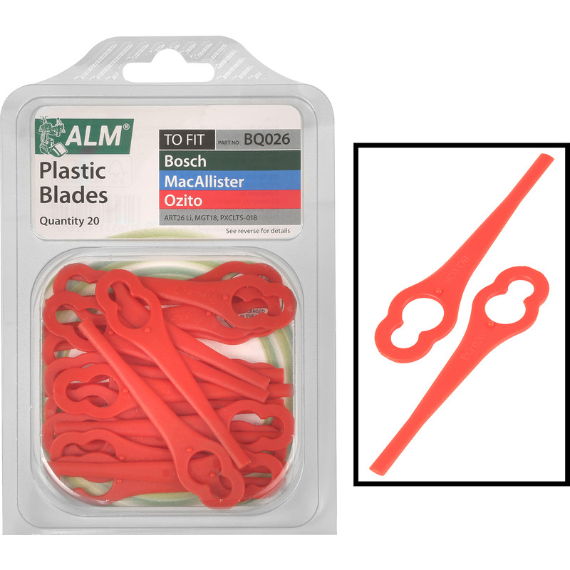 ALM Trimmer Plastic Blades