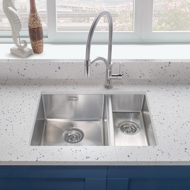 Stainless Steel 1.5 Bowl Kitchen Sink