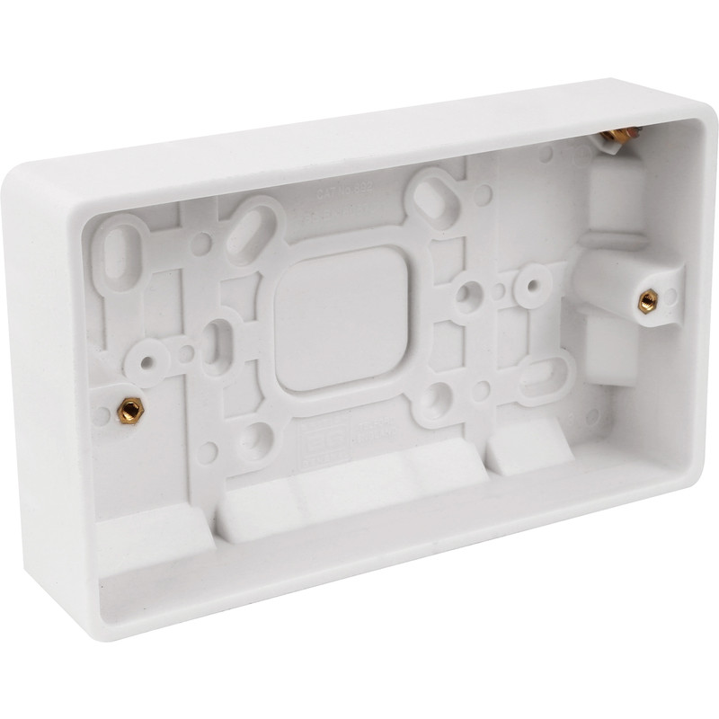 BG Low Profile Moulded Surface Box