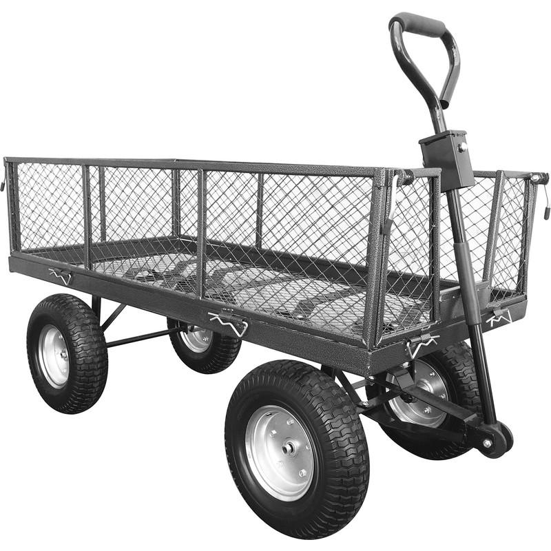 The Handy 350kg Large Garden Trolley