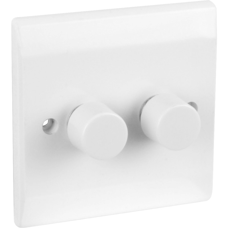 Axiom Low Profile Push Dimmer Switch