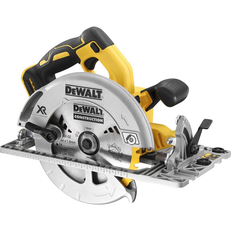 DeWalt 18V XR 184mm Brushless Rail Compatible Circular Saw
