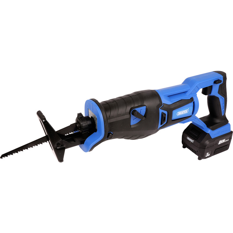 Draper D20 20V Li-ion Brushless Cordless Reciprocating Saw