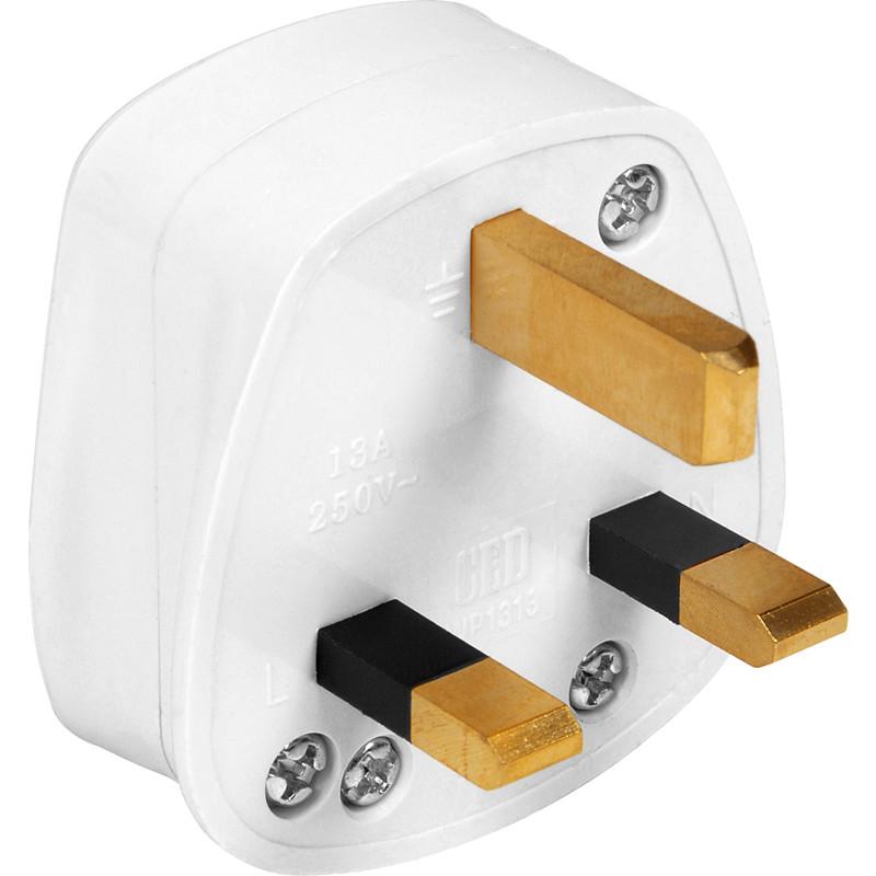 Fused 3 Pin Plug Top