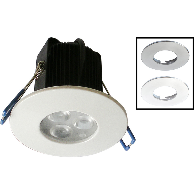 ROBUS Tri LED Fire Rated 9W Dimmable Downlight