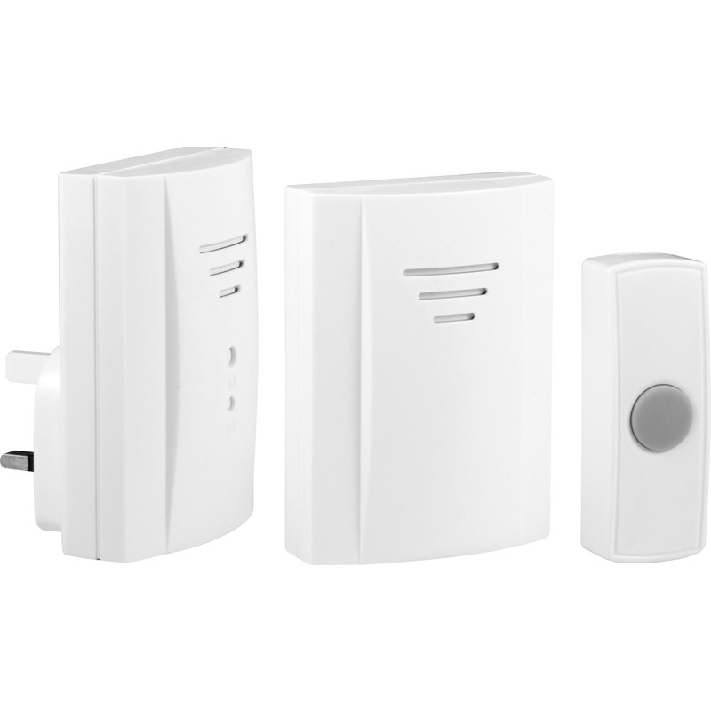 Byron Wireless Plug-In & Portable Door Chime Kit