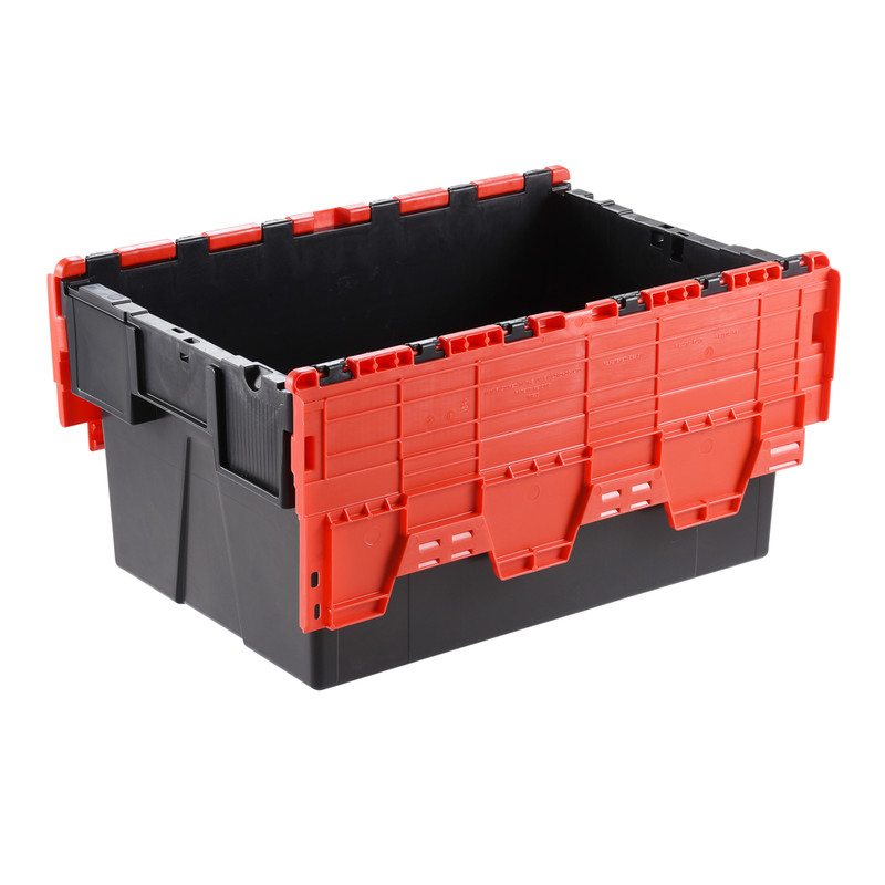 Euro Container 56L with Attached Lid