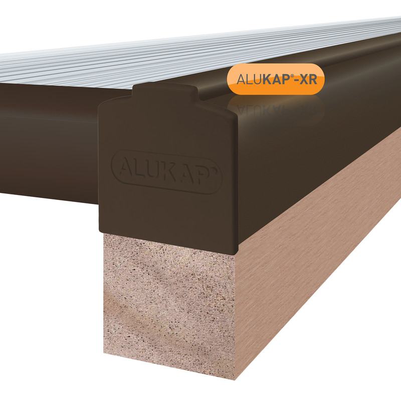 Alukap-XR Concealed Fix Gable Bar with Gasket