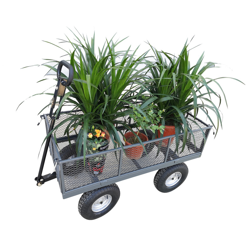 The Handy 400kg Garden Trolley with Liner & Tool Tray