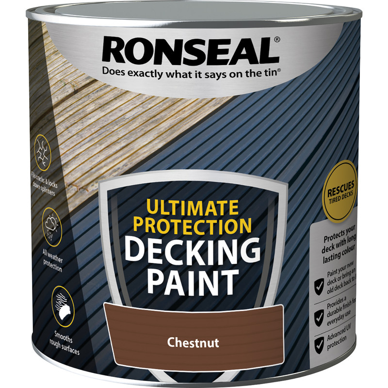 Ronseal Ultimate Protection Decking Paint 2.5L