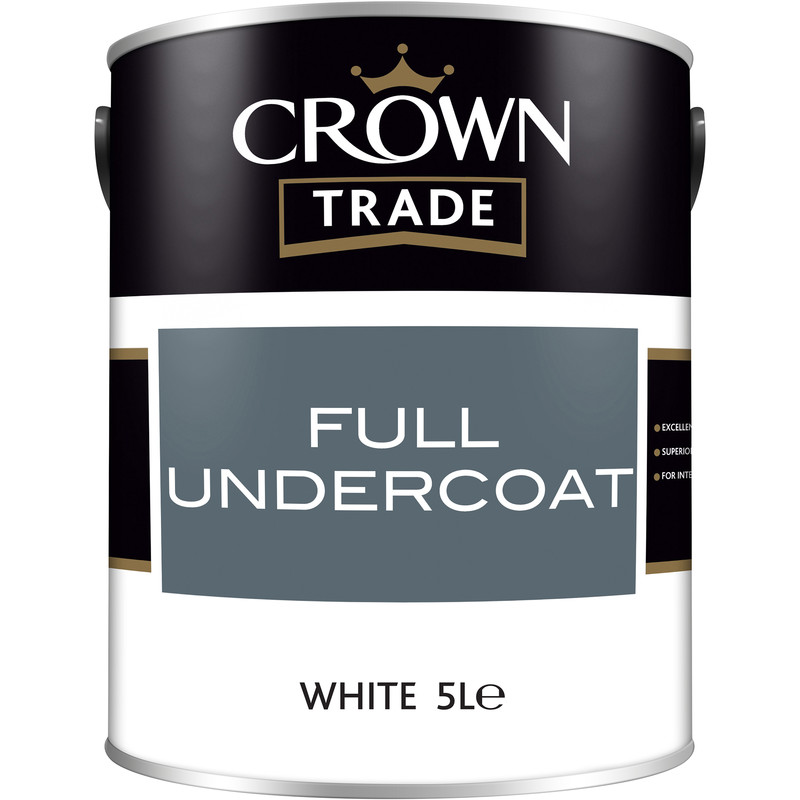 Crown Trade Undercoat Paint 5L