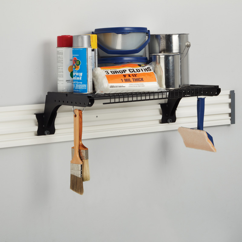 Stanley Track Wall System Shelf Bracket