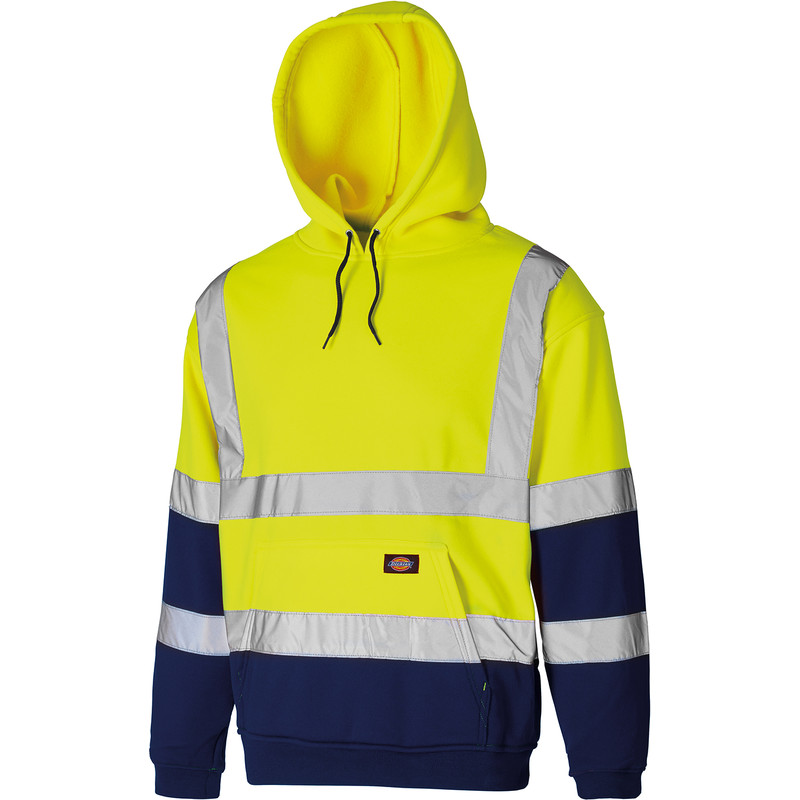 Dickies Two Tone High Vis Hoodie