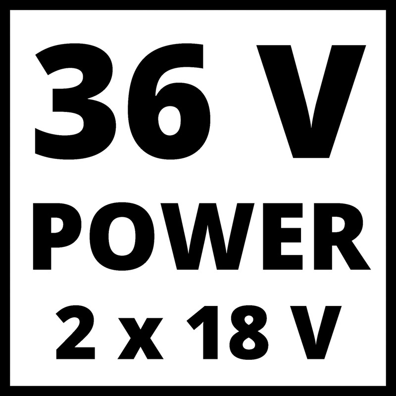 Einhell Expert Plus GE-CT 36/30 LI-E 36V (2x18V) 30cm Cordless Grass Trimmer