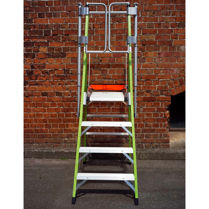 Little Giant Safety Cage Fibreglass Podium Step