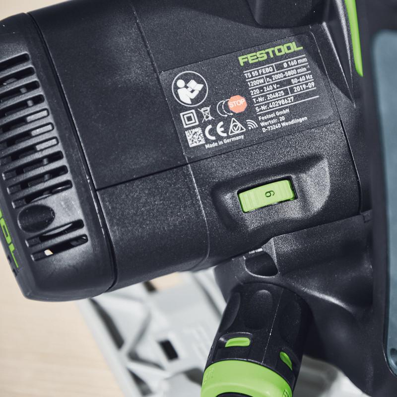 Festool 1200W 160mm Plunge-cut Saw