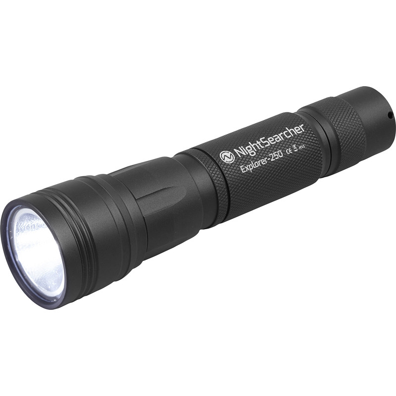 Nightsearcher Explorer 250 LED Rechargeable Torch