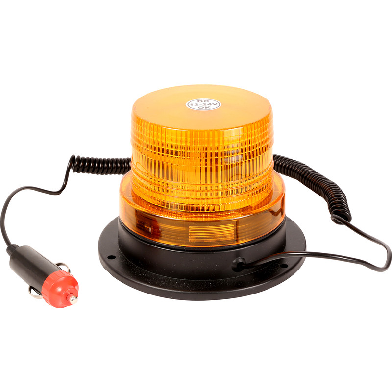 Streetwize 12V Amber Beacon LED Light