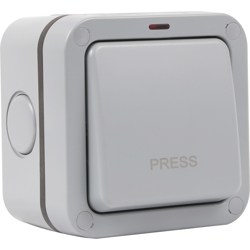 Wessex IP66 20A Retractive Switch