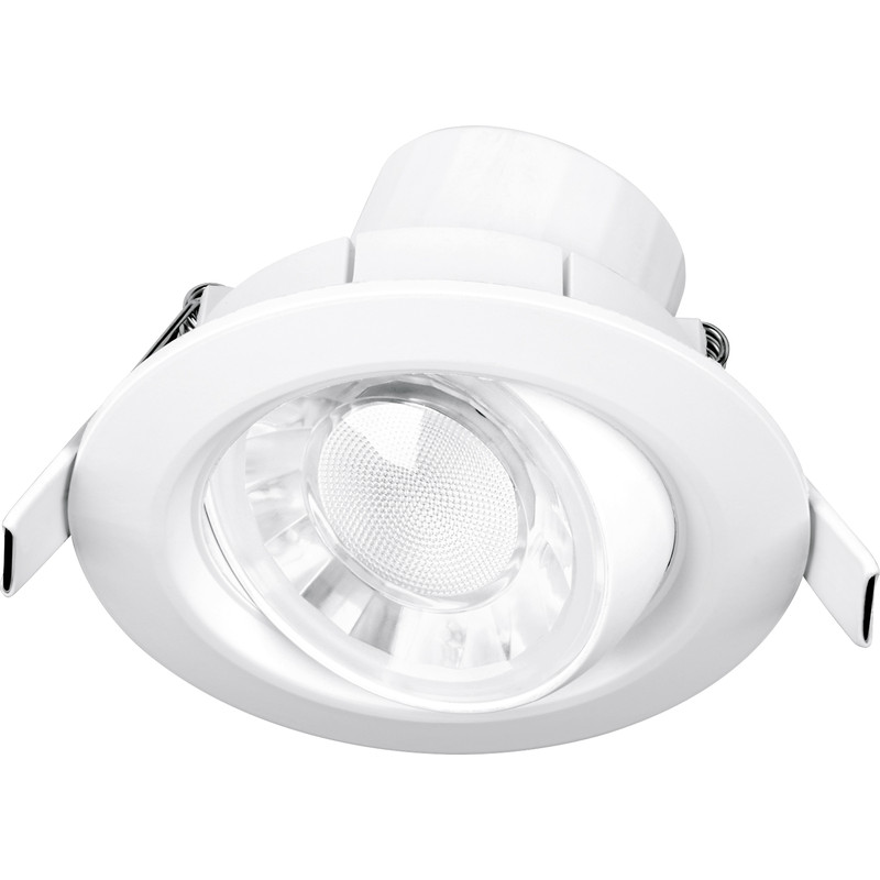 Enlite Spryte 8W Adjustable Integrated Dimmable LED IP44 Downlight