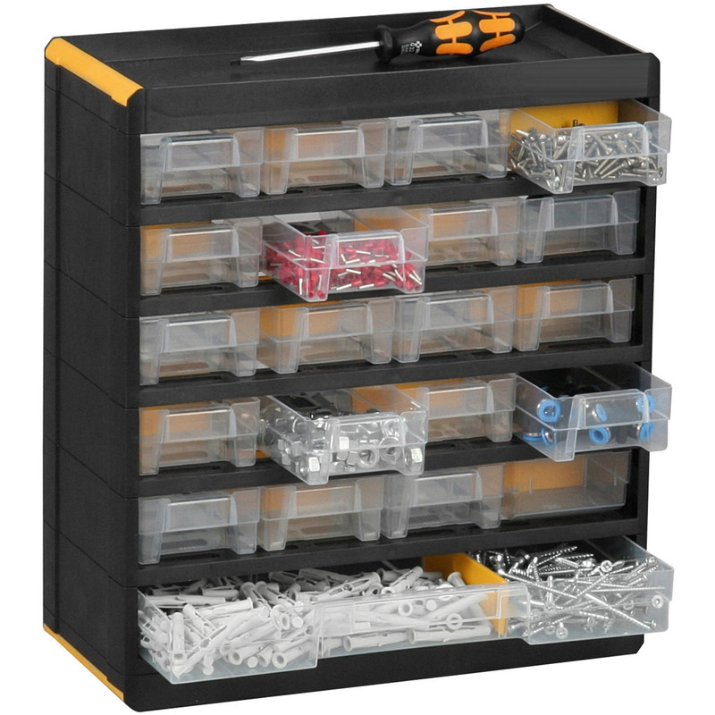 Plastic Small Parts Professional Cabinet