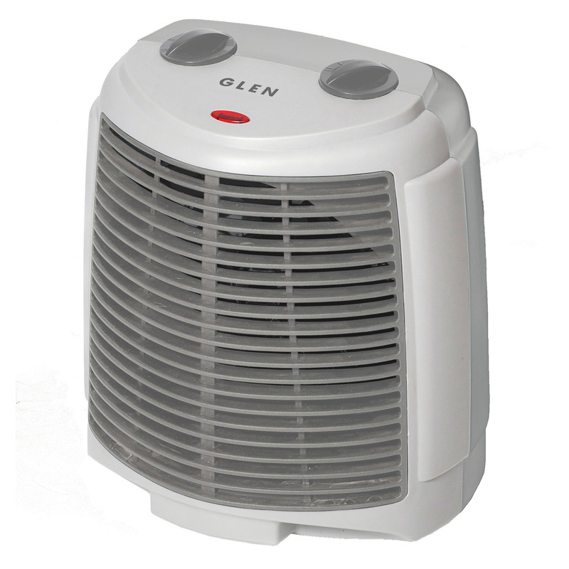 Glen 2kW Upright Fan Heater