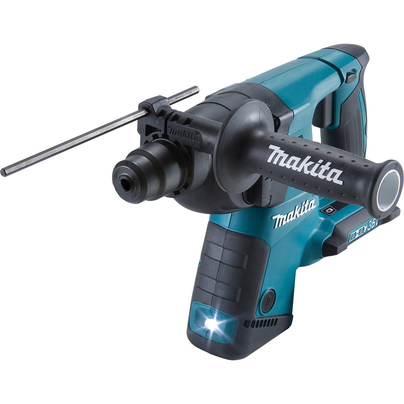 Makita DHR263ZL Twin 18V Li-Ion (36V) LXT SDS Plus Cordless Rotary Hammer Drill