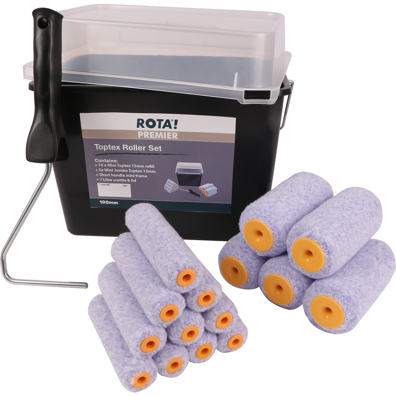 Rota Toptex Mini Scuttle Set 4""