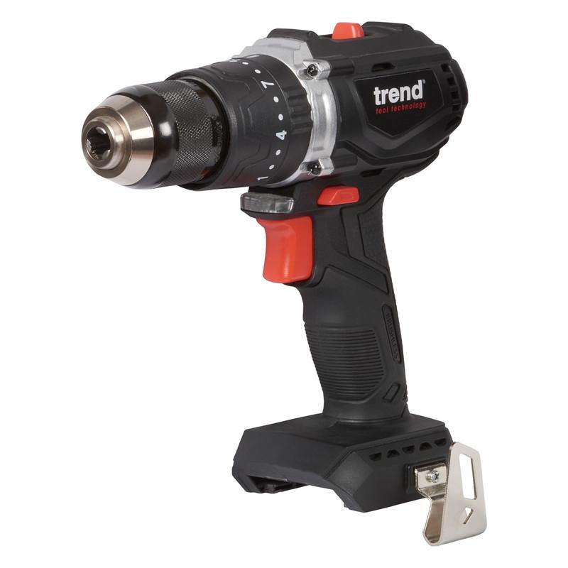 Trend T18S/CDB 18V Cordless Brushless Combi Drill