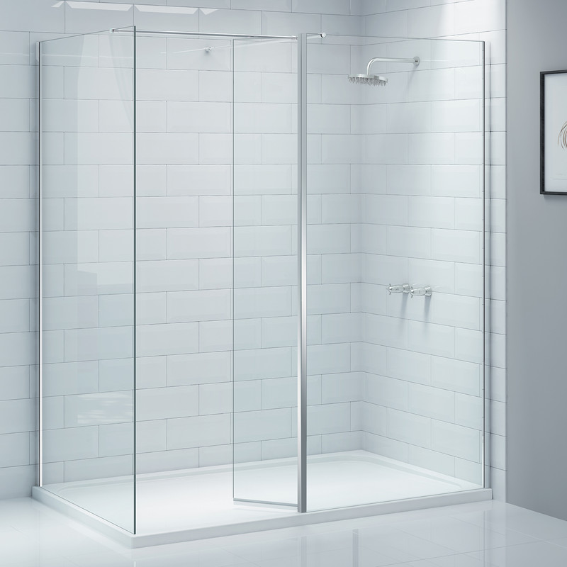 Merlyn NIX Wet Room Swivel Panel