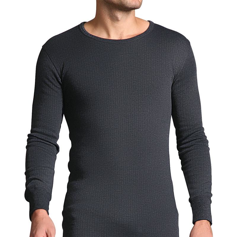 Workforce Mens Long Sleeve Thermal T-Shirt