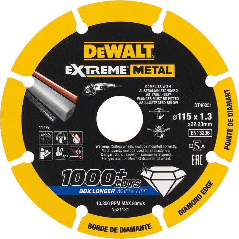 DeWalt Extreme Metal Cutting Disc