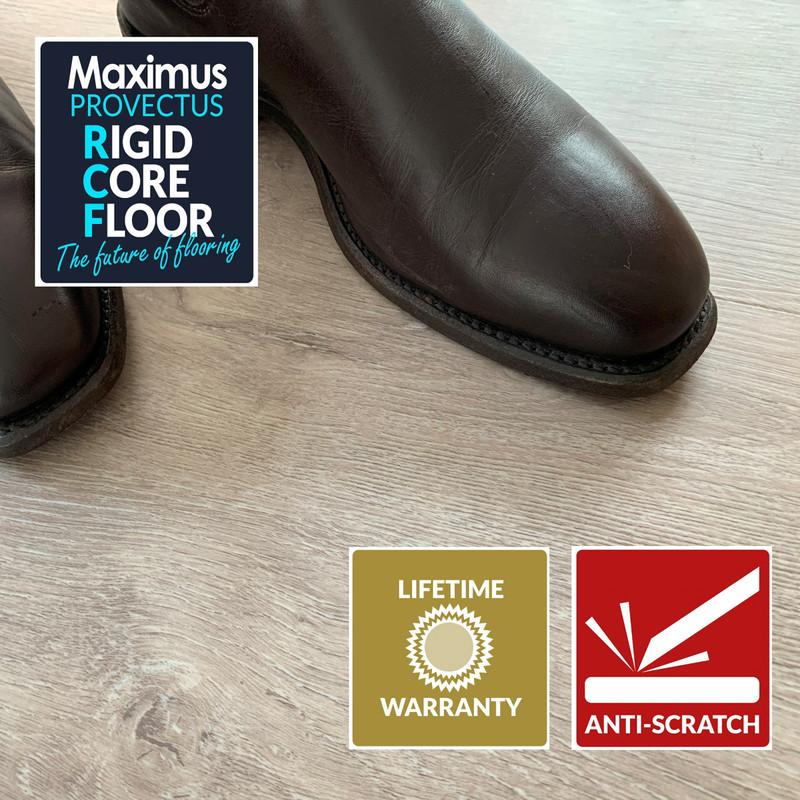 Maximus Provectus Rigid Core Flooring - Columbus Herringbone