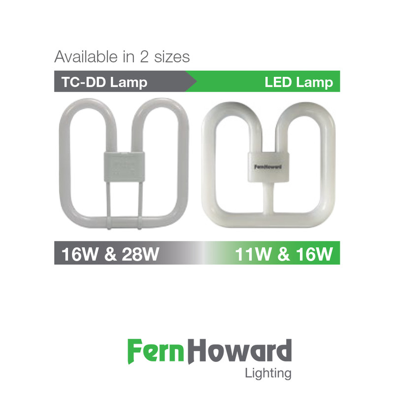 Fern Howard LED 2D 4 Pin Lamp