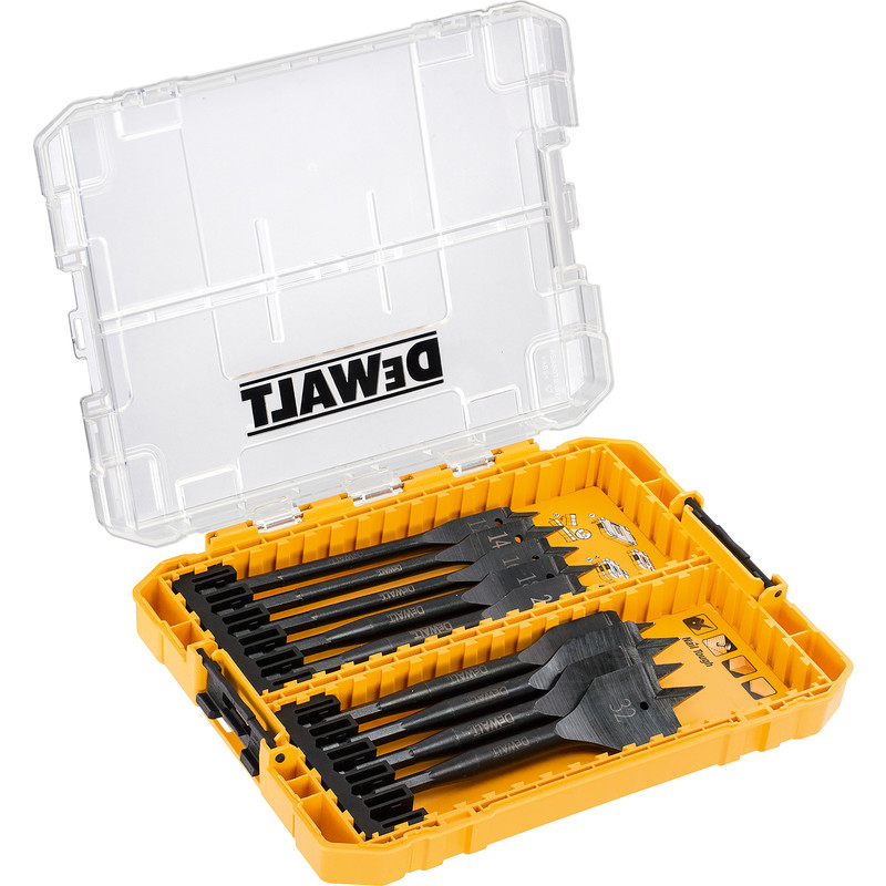 DeWalt Extreme Impact Rated Flat Wood Drill Bit Set