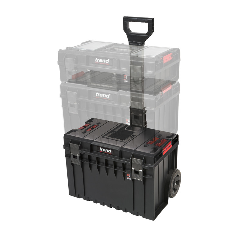 Trend Modular Storage Pro Cart Wheeled