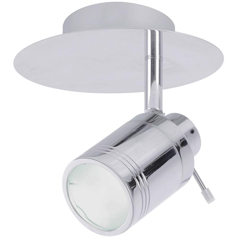 Bora IP44 GU10 LED Single Spot Light