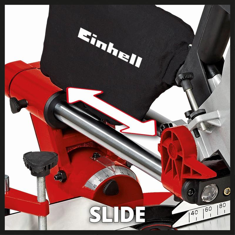 Einhell 210mm 1600W Double Bevel Sliding Mitre Saw