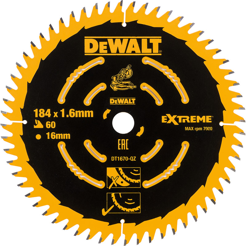 DeWalt Fine Circular Saw Blade