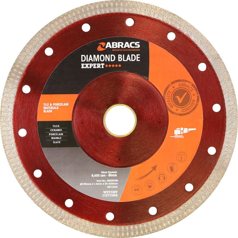 Abracs Tile & Porcelain Diamond Blade