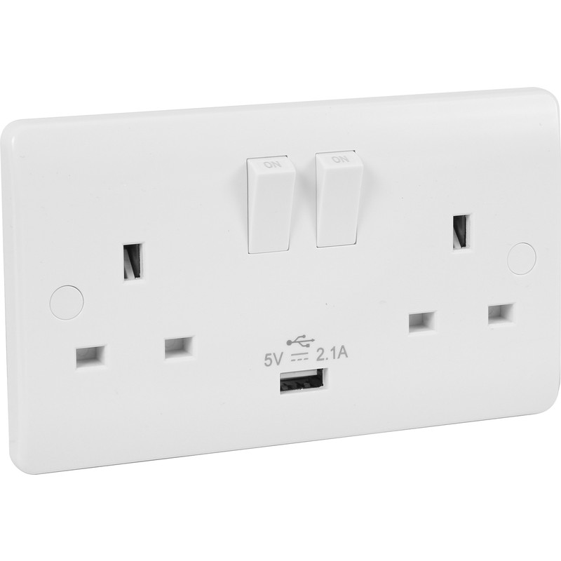 Click Mode Switched USB Socket
