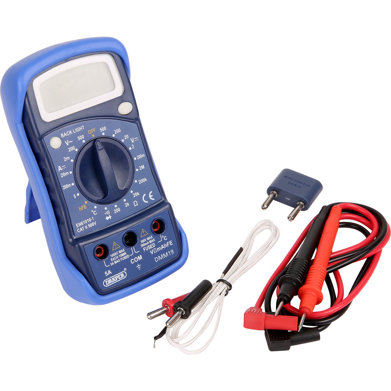 Draper Digital Multimeter & Thermocouple