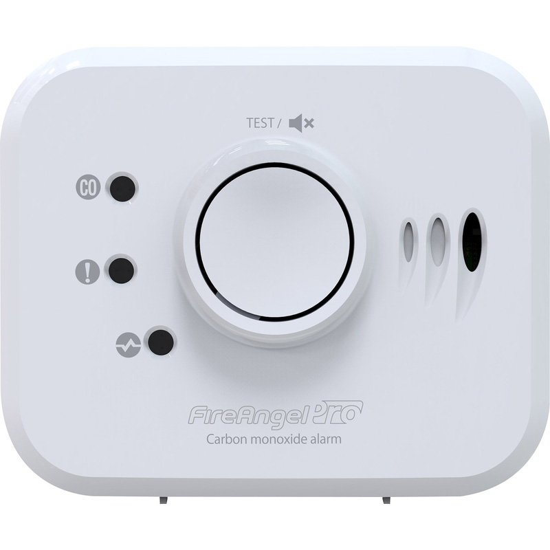 FireAngel Pro Connected Wireless Interlink CO Alarm