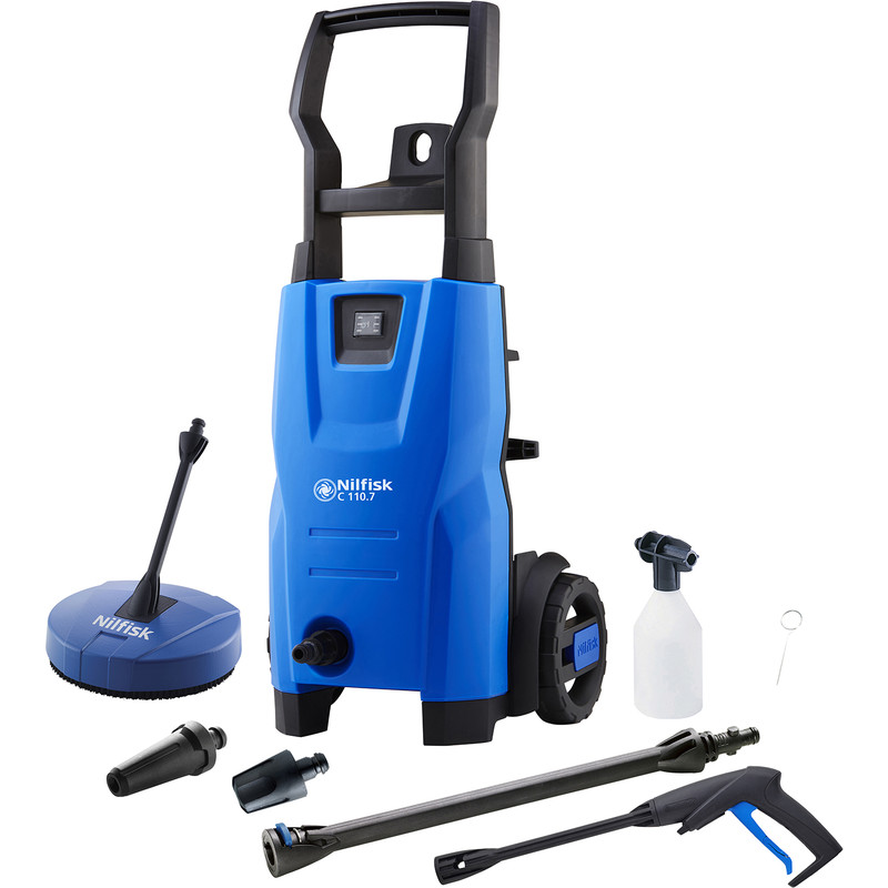Nilfisk C 110.7-5 PC X-TRA Compact Home Pressure Washer
